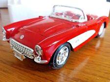 Welly Corvette 1957 Premium Edition 1:24 Scale Die Cast