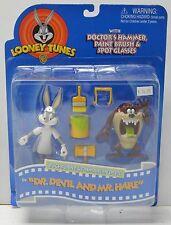 Bugs Bunny Dr. Devil Mr. Hare Tazmanian Taz Action figure Playmates 1997 NIP