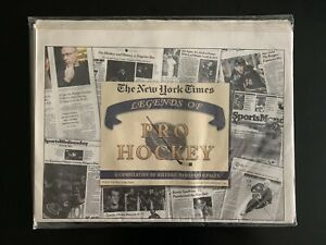 The New York Times Legends of Pro Hockey - Compilation of Historic Newspapers