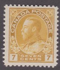 "Canada 1912 #113 KG V ""Admiral"" Issue 7¢ - MNH  VF"