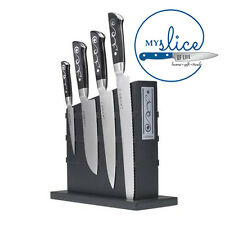 I O SHEN 5 PIECE KNIFE BLOCK SET - THE CHOICE OF PROFESSIONALS