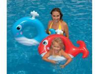 Kinder Schwimmring Schwimmhilfe Bade Hilfe Schwimmreifen 3-6 Jahre Blau o. Rot
