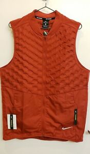 Nike Men's AeroLoft Reflective Packable Running Vest~L~MSRP $180 ~ NWT!