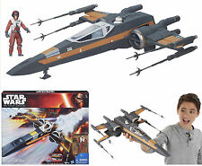 STAR WARS THE FORCE AWAKENS CLASS III DELUXE POE DAMERON'S X-WING FIGHTER