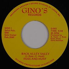 ROSS and HUNT: Back Alley Salley GINO's Private Saint Louis 45 Rock HEAR