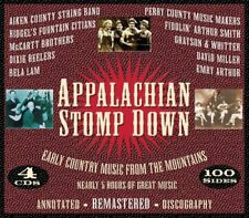 Appalacian Stomp Down: Early Country Music from the Mountain x 4 CD box set, NEW