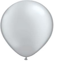 20 Balloons new Silver 11 inch Latex wedding Shower Party Birthday anniversary