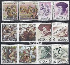 1978 - España Ed 2460/2468 Yv 2105/2113 ** MNH Nuevo sin Charnela