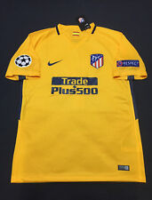 Atletico Madrid Away Jersey Griezmann #7 Yellow Extra Large