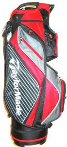 TAYLORMADE TM18 6.0 PRO 14 WAY CART BAG RED/BLACK BRAND NEW