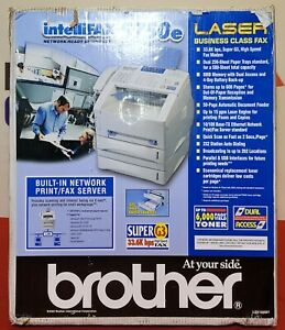 Brother PPF-5750E IntelliFAX 5750e Laser FAX 600 dpi - Sealed / Free Shipping