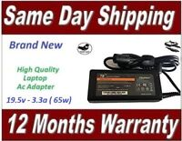 Laptop Adapter For Sony Vaio 19.5V 3.3A Laptop Charger VGP-AC19v49 + UK Cord