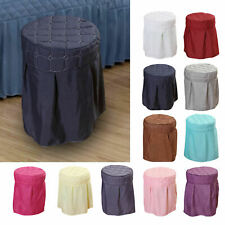 Beauty Salon Round Chair Cover Seat Cover Washable Parts for Home Spa Salons