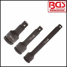 "BGS - 3/4"" Drive - Impact Extension Set, 100, 150 & 250 mm - Pro Range -8840"