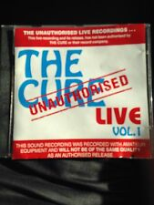 The Cure - Unauthorised Live Vol.1 Rare CD, Aus Seller, Free Postage