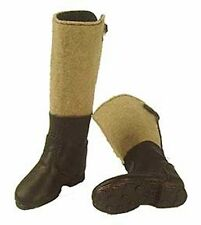 In The Past Toys 1/6 scale German Black Toy Winter felt Boots