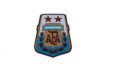 ARGENTINA AFA LOGO SHIELD IRON-ON PATCH CREST BADGE 2 3/4 X 3 1/4 INCHES