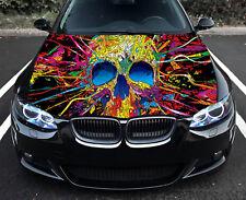 Skull Full Color Sticker Car Hood Vinyl Car Vinyl Graphics Decal Wrap MH354