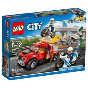 Lego Town City Police Set 60137-1 Tow Truck Trouble Brand New In Sealed Box
