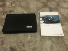 2017 Audi A3 Owners Manual With Case Oem Free Shipping