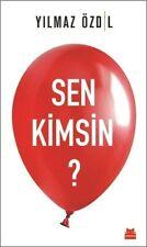 """ Yılmaz Ozdil - SEN KIMSIN?"" Turkce Kitap Yeni 2017 Registered Shipping"