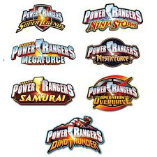POWER RANGERS Birthday Party Range - Tableware Balloons & Decorations