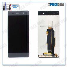 ECRAN LCD + VITRE TACTILE pour SONY XPERIA XA et F3111 GRIS + outils + colle