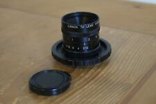 25mm F1.4 Canon CCTV Lens - with M4/3 adapter