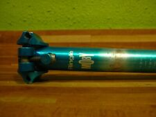 Ringle Moby Seat Post 27.2 x 350 Turquoise Vintage MTB