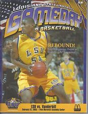 2003 LSU TIGERS BASKETBALL PROGRAM - Brad Bridgewater VS VANDERBILT