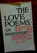 The Love Poems of Shakespeare Decorations by Eric Gill