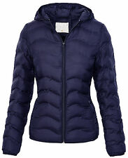 Ladies Quilted Jacket Transition Winter Down Look D-207 NEW
