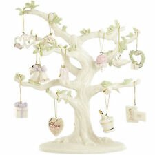 Lenox ~ Set of 12 Ornaments ~ Wedding ~ Shoes, Heart, Roses ~ Nib (No Tree)