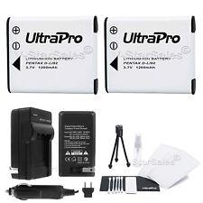 2X D-LI92 Battery + Charger for Pentax Optio I-10 I10 WG-1 WG-2 WG-3 WG-10
