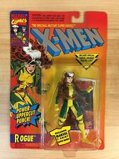 1994 TOY BIZ X-MEN ROGUE MOC (FIRST RELEASE, POWER UPPERCUT PUNCH) J7