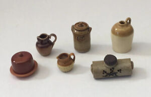 Dolls House Stoneware Accessories
