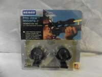 "Weaver Steel Lock Pro-View 1"" Tube Diameter Scope Mount Remington 700"