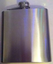 Hip Flask /Drinking Alcohol Liquor Juice made by Maxam Stainless Steel 6 oz