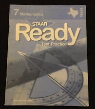 STAAR Ready Test Practice Texas Edition Mathematics Workbook 2012 Grade 7