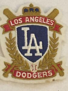 LA Dodgers Vintage Baseball Patch