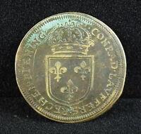 Nuremberg Louis XIV Louis XIV Rechenpfennig Conrad Laufer Token Token