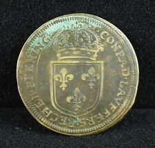 Nuremberg Louis XIV LOUIS XIV Rechenpfennig Conrad Laufer Jeton Token