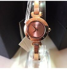 Ladies Karen Millen rose gold plated banglet watch KM115RGM RRP £149