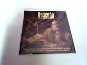 """ROSENDO """"SALUD Y BUENOS ALIMENTOS"""" CD SINGLE 8 TRACKS"""