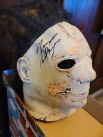 Halloween Michael Myers Signed Tyler Mane Mask w/ Pristine COA