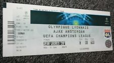 TICKET )) OL LYON V AJAX AMSTERDAM )) C1 Champions League 2011/2012