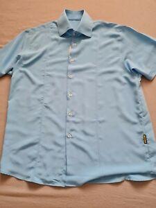 Armani Jeans Silk Shirt XL 48 Chest
