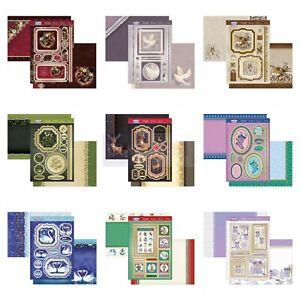 Hunkydory Card Making Kits - Contemporary Christmas - Choice of Topper Craft Set