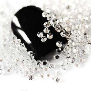 7200pcs Clear Crystal Glass Glisten Micro Zircon 3D Mini Strass Rhinestones