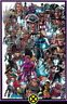 X-MEN #1 (2019) MARK BAGLEY EVERY MUTANT EVER CONNECTING VARIANT MARVEL 9.4 NM
